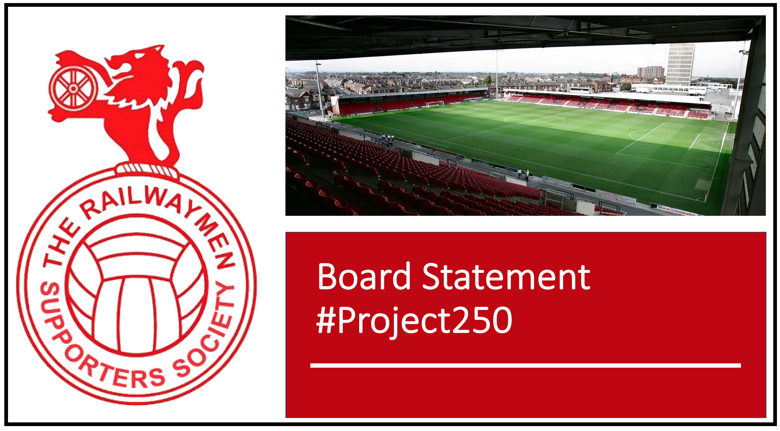 #Project250 – Board Statement