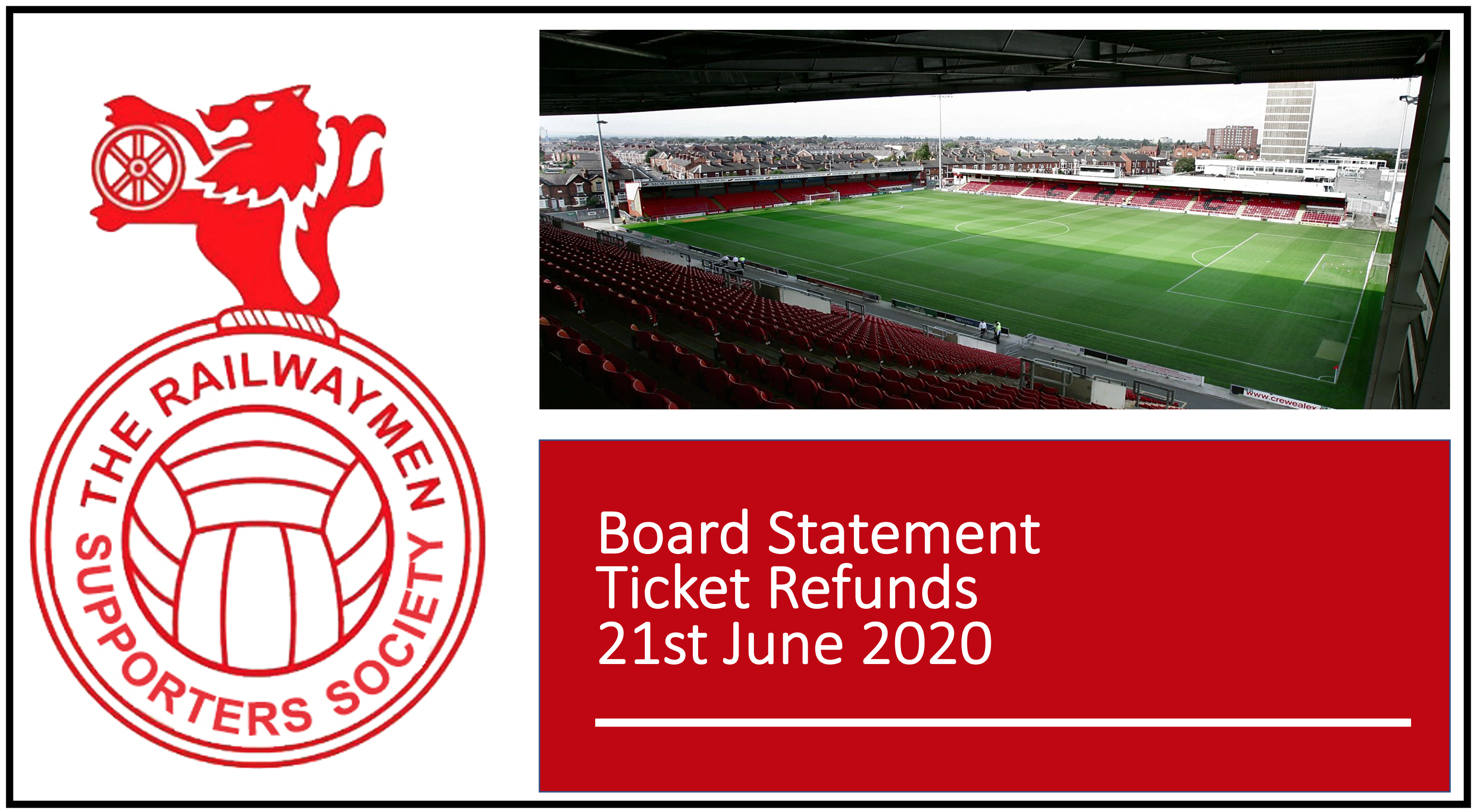 Railwaymen Statement on Ticket Refunds