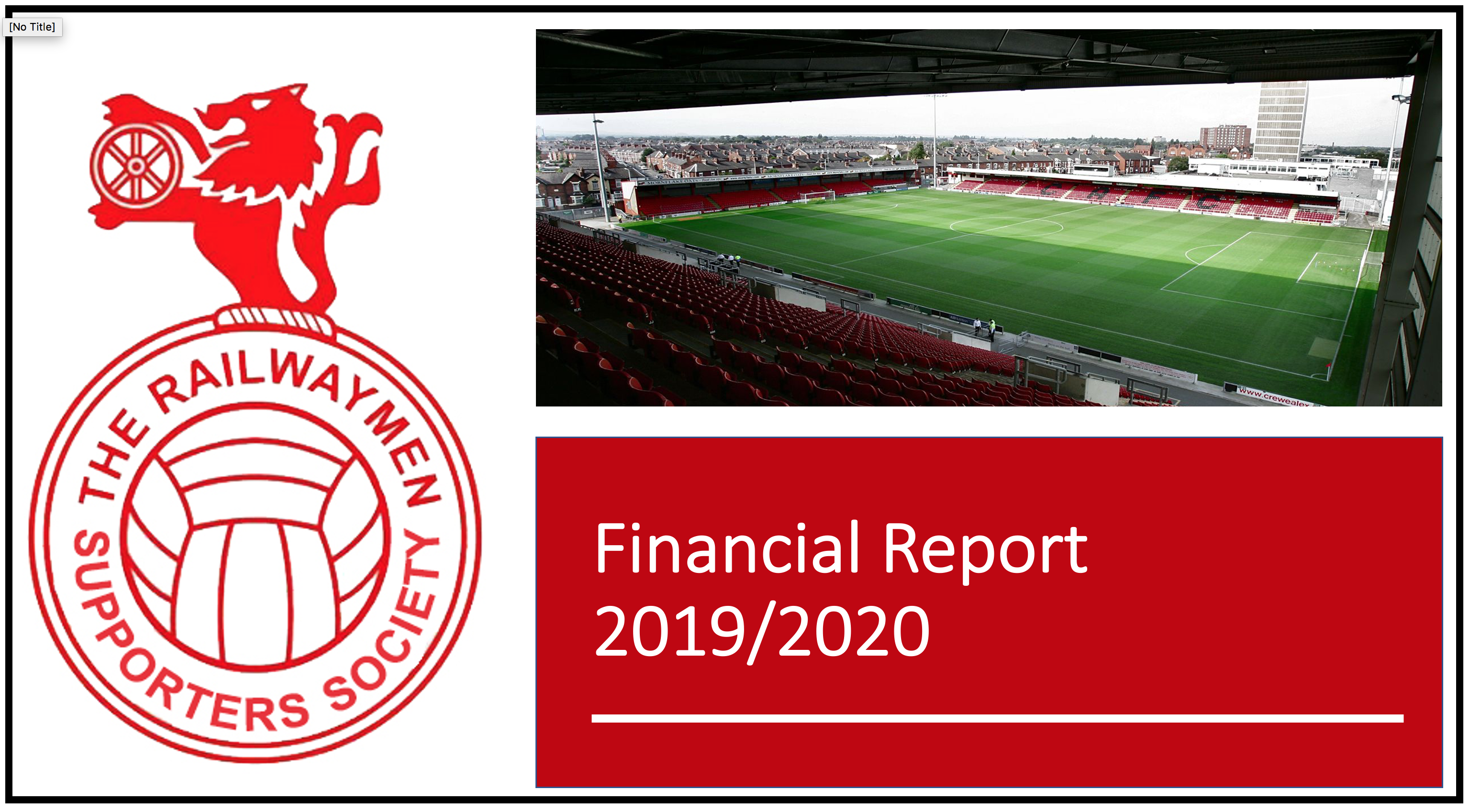 Railwaymen Financial Report 2020