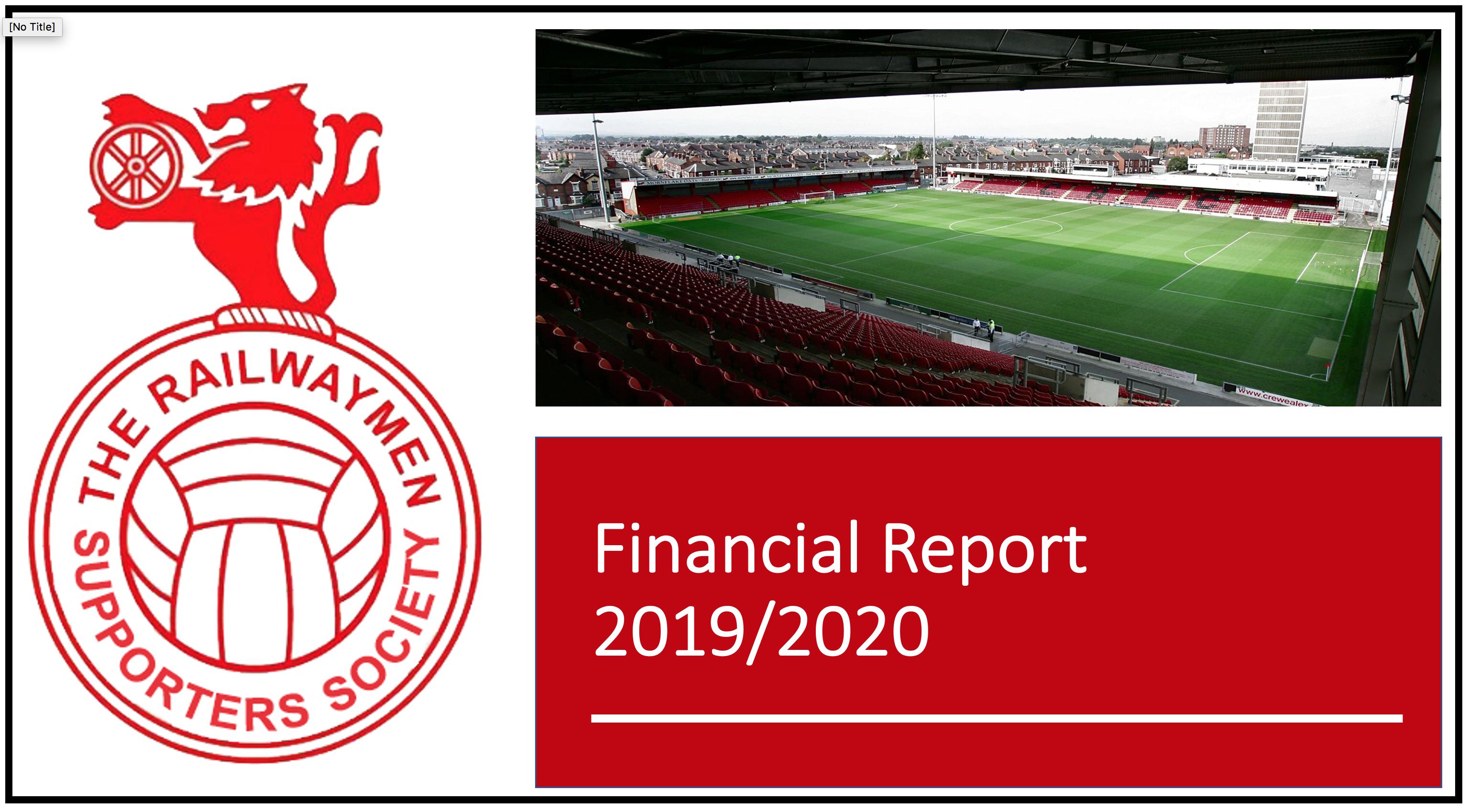 Railwaymen Financial Report 2020