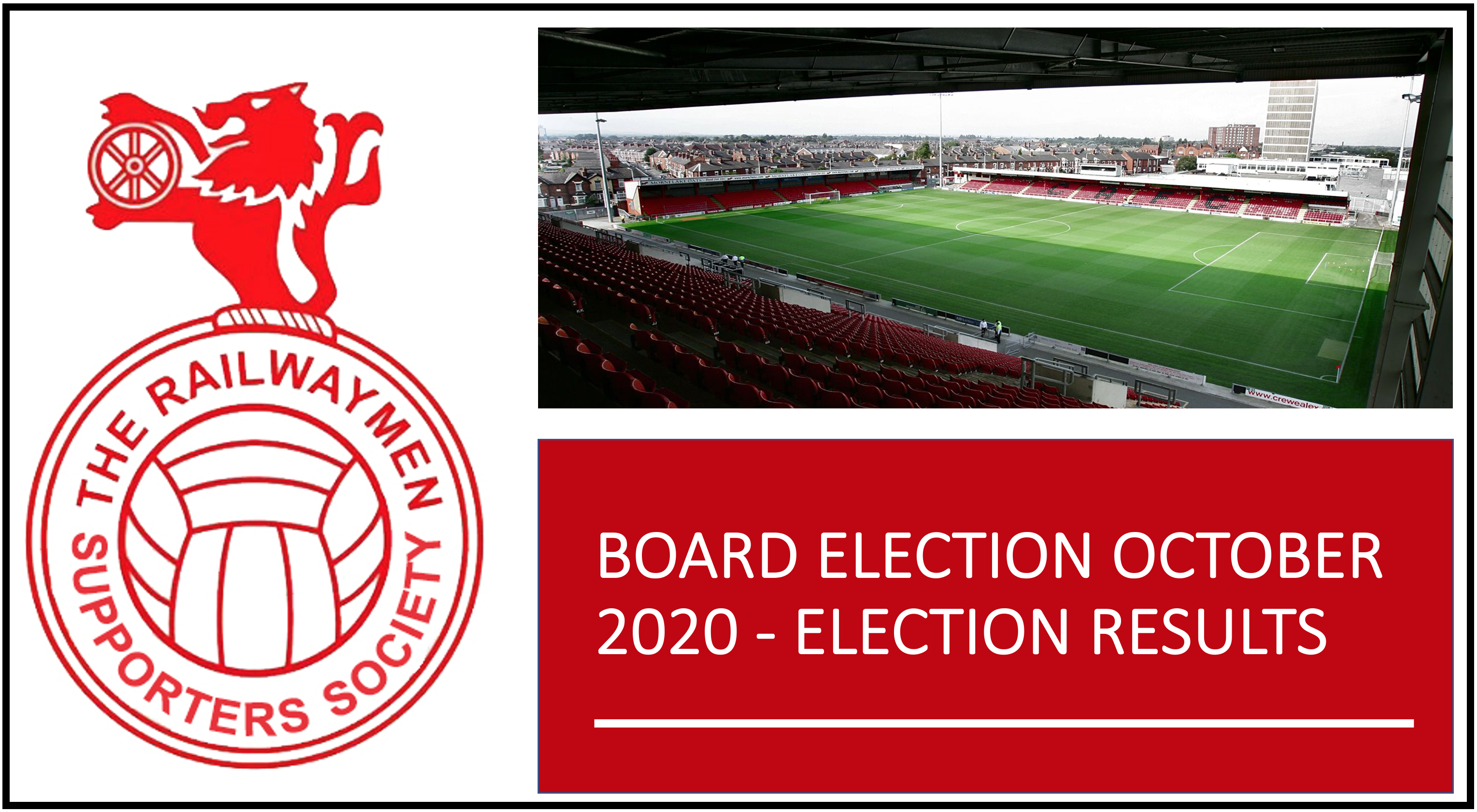 BOARD ELECTION OCTOBER 2020 – ELECTION RESULTS